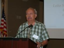 Dr. Farouk Al-Nasser Speaks to Club Members at Monthly Meeting