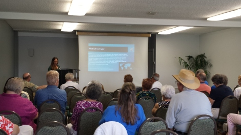 Gretchen Newsom of IBEW Local 569 discusses TPP