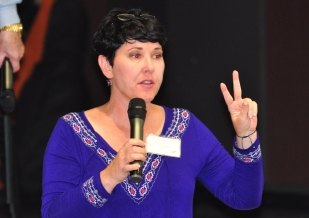 President - Heather Roberts